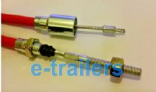 Aftermarket KNOTT Stainless Steel Brake Cable Detachable. Multiple Sizes.